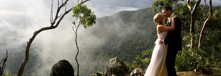 Wedding Venues Gold Coast Hinterland Oreillys Rainforest Retreat